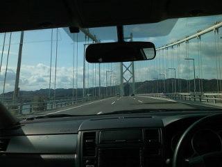 今回の旅の一テーマは橋だそうです